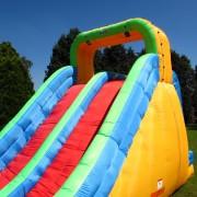 BeBop Dual Lane Inflatable Water Slide