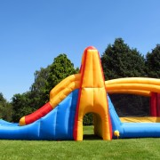 BeBop Double Slide Bouncy Castle