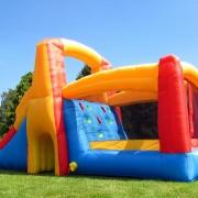 BeBop Bouncy Castle Back