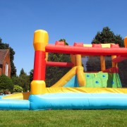 BeBop Fortress Inflatable Castle and Water Slide