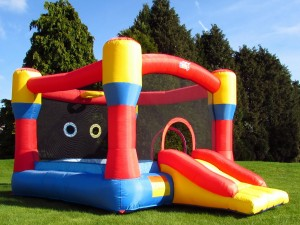 BeBop 12ft Classic Bouncy Castle Main