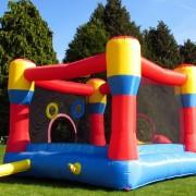 BeBop 12ft Classic Bouncy Castle Rear
