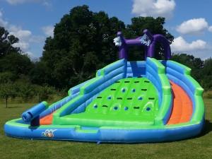 BeBop Twin Peaks Inflatable Water Slide