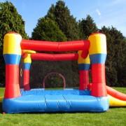 BeBop 12ft Classic Bouncy Castle Side