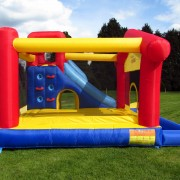 BeBop Large Inflatable Garden Bouncy Castle