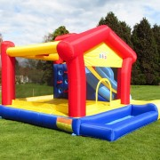 BeBop Kids Bouncy Castle with Slide