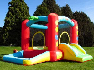Bebop Balloon Bouncy Castle and Ball Pit
