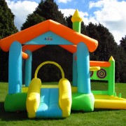BeBop Bounce House and Slide