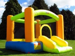 Bebop Grasshopper Garden Bouncy Castle